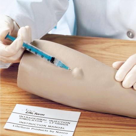 Simulateur d'injection intradermique