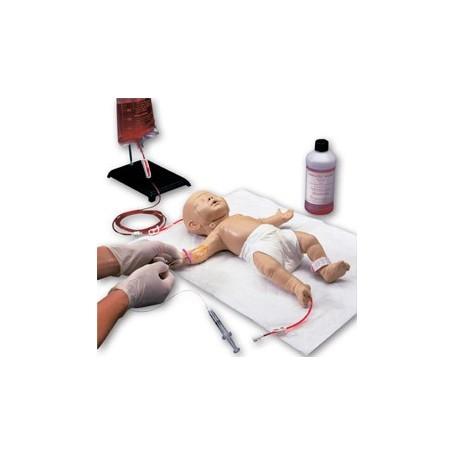 Simulateur pour accès vasculaire veineux (en pédiatrie)