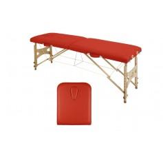 Table pliante en bois avec tendeurs