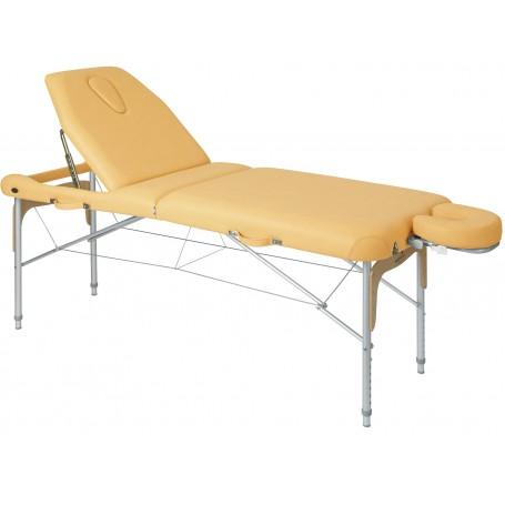 Table pliante ostéopathie mixte avec tendeurs