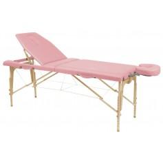 Table pliante en bois avec tendeurs Ecopostural C-3216-M61