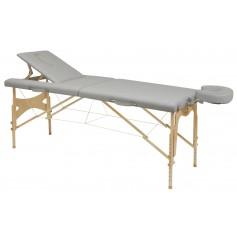 Table pliante en bois avec tendeurs Ecopostural C-3210-M61