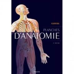 Planches d'anatomie Coffret - Pierre Kamina - Edition Maloine