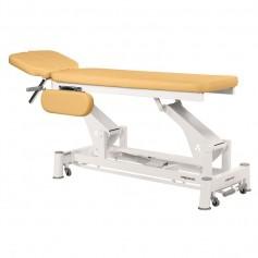 Table massage electrique proclive et déclive avec accoudoirs