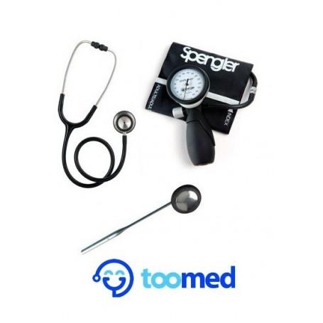 Kit de diagnostic : Stétho Classic T + Tensio Spengler LIAN NANO + Marteau