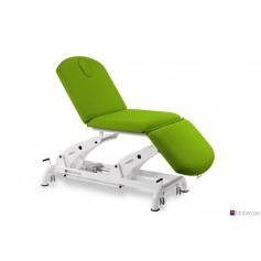 Table électrique en 3 plans avec trois moteurs pour le réglage de la hauteur, du dossier et du repose-pieds