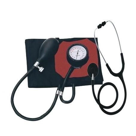 Pack Tensiomètre médical French type et Stéthoscope Spengler pulse simple pavillon