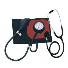 Pack Tensiomètre médical French type et Stéthoscope Spengler pulse simple pavillon