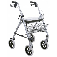 ROLLATOR 4 ROUES PORTE CANNE ROAD