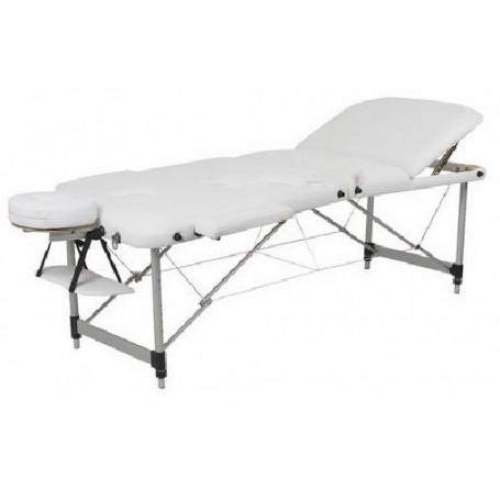 table de massage aluminium dossier relevable