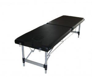 Table d'ostéopathie toomed en aluminium