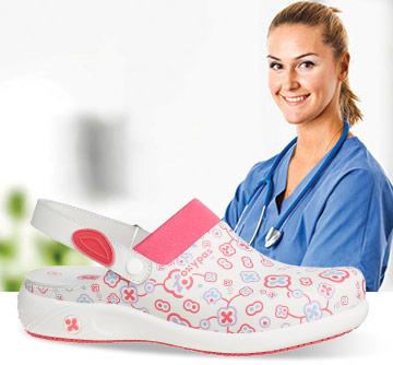 Image result for Les différentes caractéristiques d'une chaussure d'aide-soignant