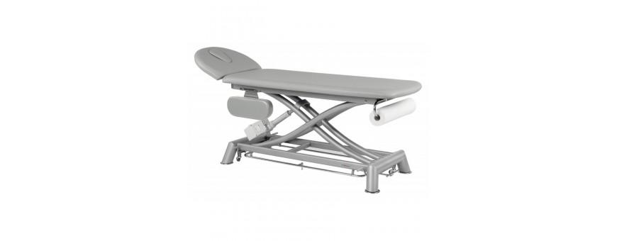 Tables d'ostéopathie électrique en 2 plans