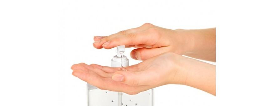 Produit lavage et désinfectant des mains